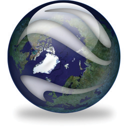 Google Earth sphere icon